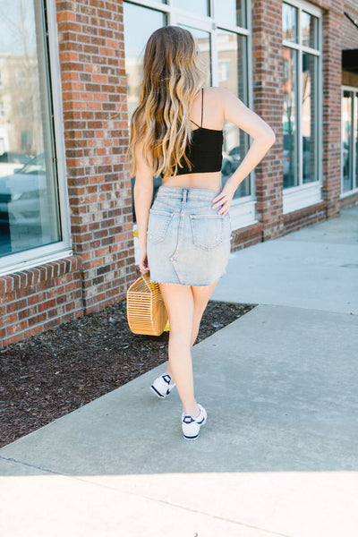 The Levi Denim Skirt