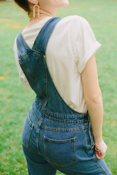 The Culpepper Denim Overalls