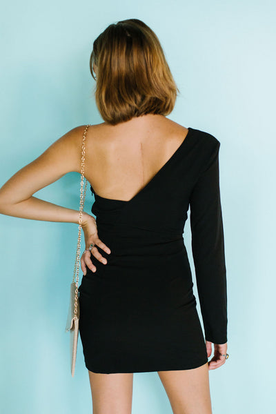 No Pressure One Shoulder Dress