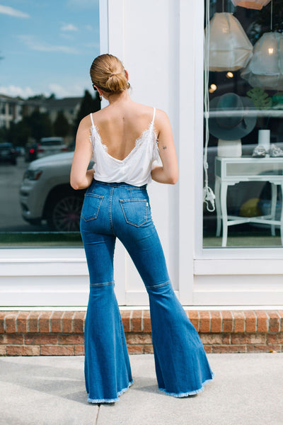 The Brooklyn Bell Bottom Flare Jeans