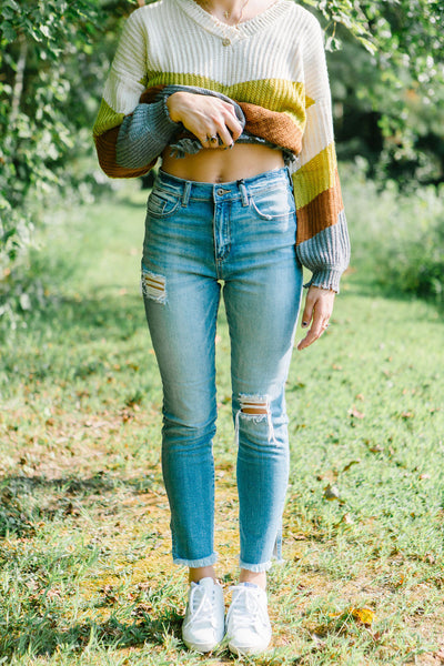 The Tomboy Distressed Jeans