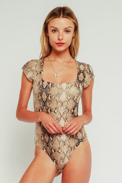 The Lizzo Snakeskin Bodysuit
