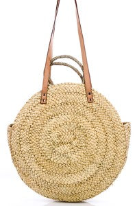 Hot Sands Straw Beach Tote - Swoon Boutique