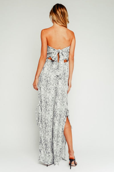 The Jillie Snakeskin Jumpsuit