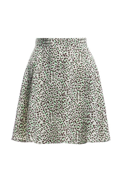 The Joey Leopard Skirt