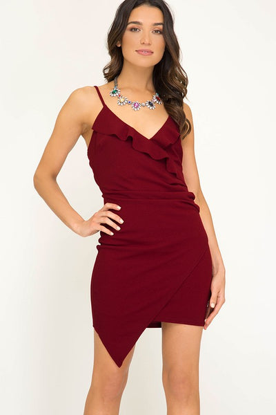 Simply Stated Wrap Dress