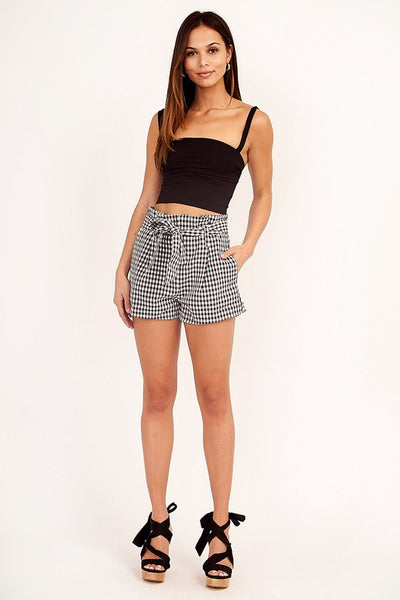 Ants Marching Gingham Shorts