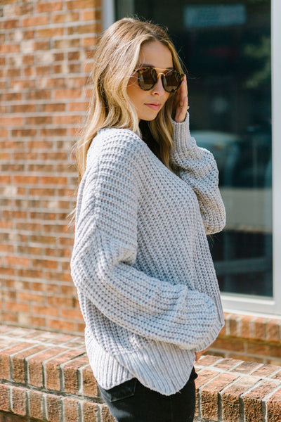 Way Maker Chenille Sweater