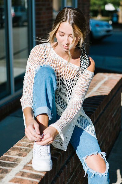 The Brie Boho Sweater