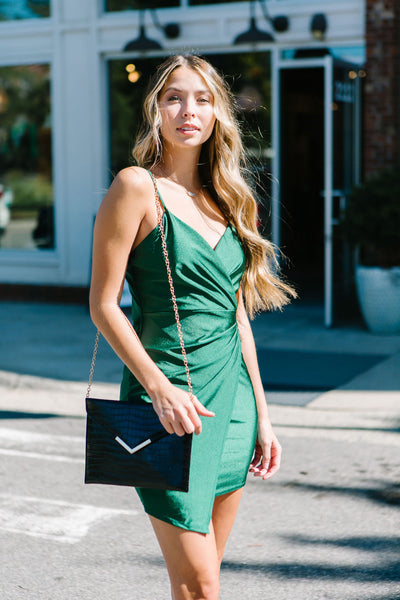 Close Talker Wrap Dress