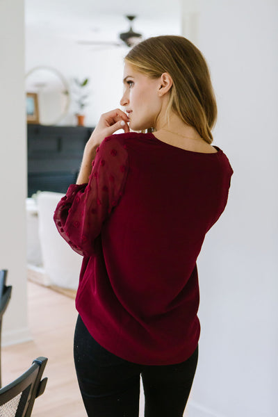 Holiday Crush Top