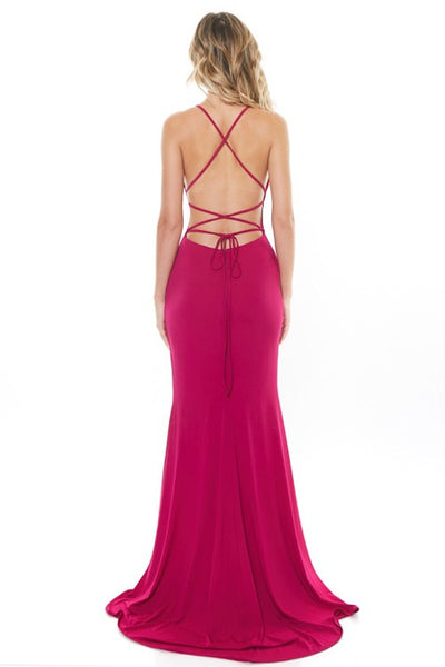 Passion Fruit Tie Back Maxi Dress