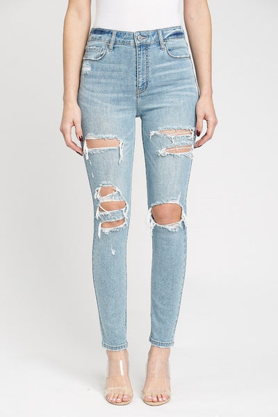 So Original Distress Jeans
