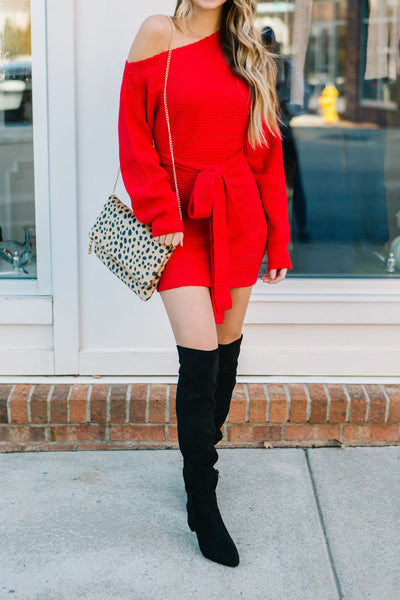 The Ruby Sweater Dress