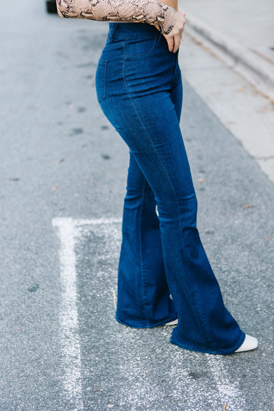 City Slicker Flare Jeans