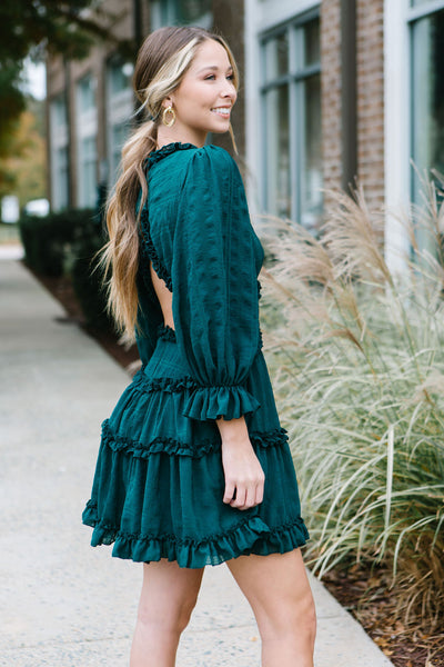 The Collins Ruffle Dress