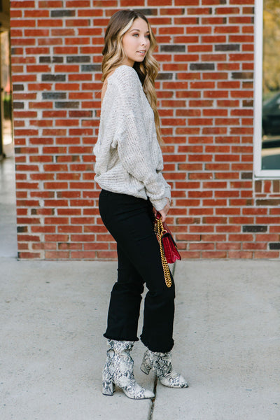 The City Cropped Flare Jeans