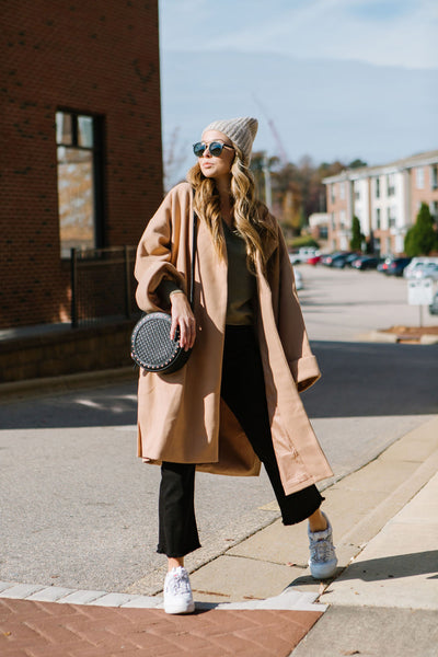 The Klein Menswear Trench Coat