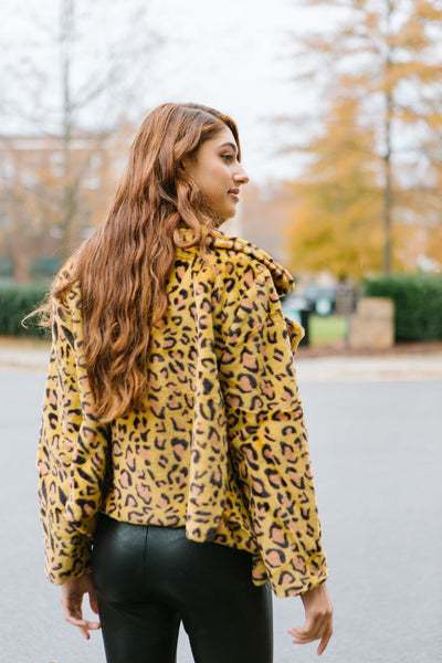 Spice It Up Leopard Coat