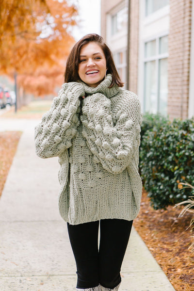 The Vale Hand Knit Sweater