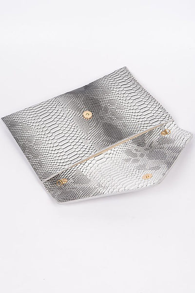 The Zara Snakeskin Clutch