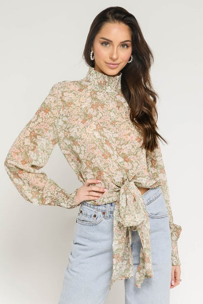 That Floral Feeling Blouse
