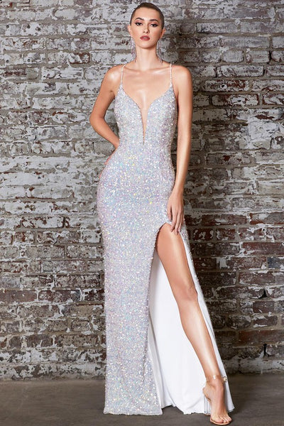 Lights Camera Sequin Gown