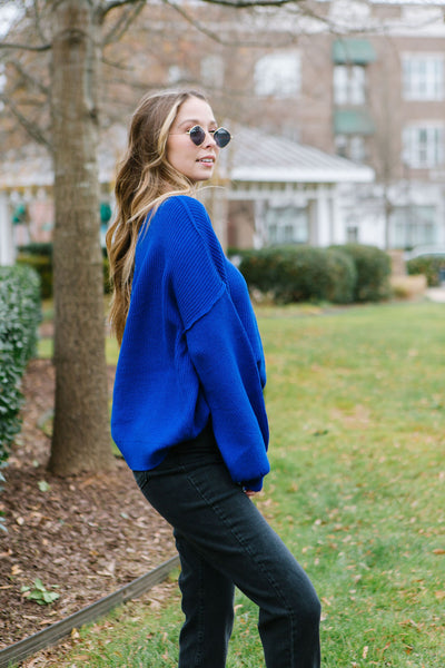Be Bold Off The Shoulder Sweater