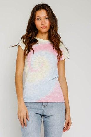 Rainbow Hope Tie Dye T