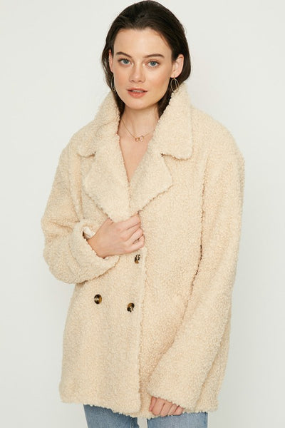 Cozy Cream Coat