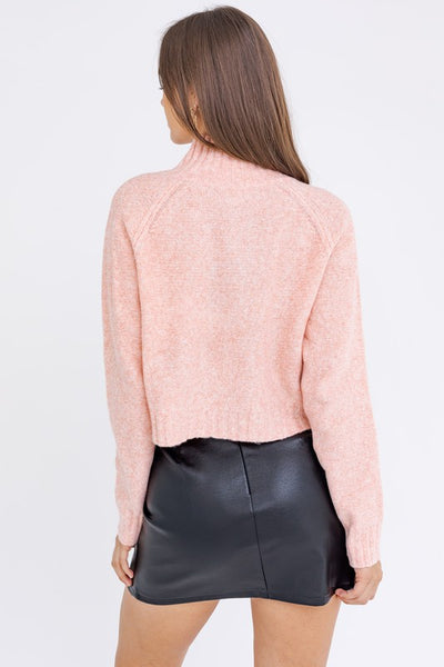 Just Peachy Turtleneck