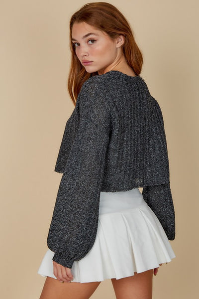 High Hopes Cropped Sweater