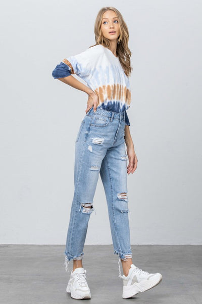 To Die For Distressed Jeans