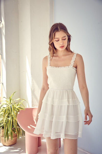 The One Off White Dress