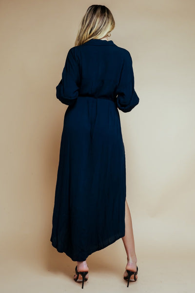 King Street Maxi Shirt Dress
