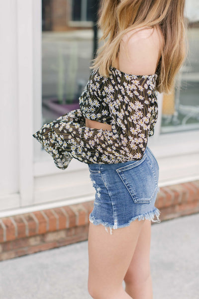 Daisy Trip Crop Top - Swoon Boutique