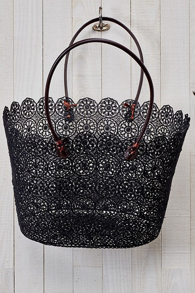 Medallion Crochet Bag