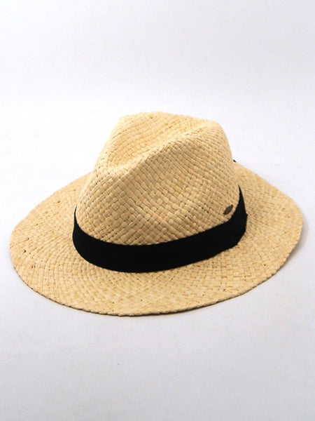 Savannah Straw Fedora