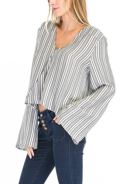 The Right Stuff Wrap Top