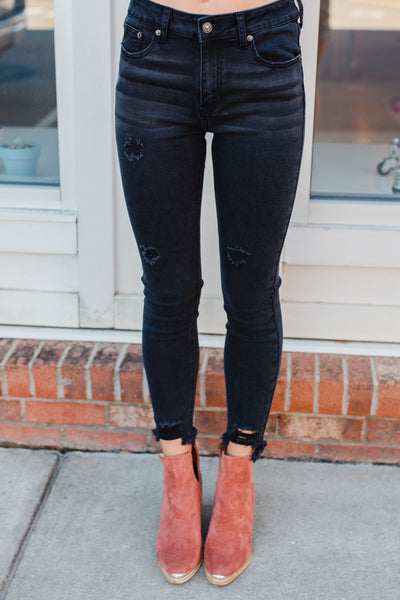 High Riser Jeans - Swoon Boutique