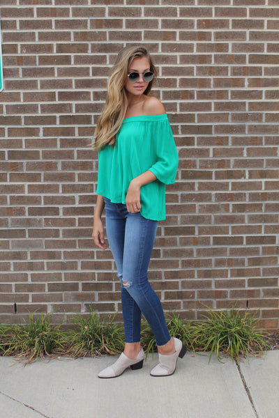 Now or Never One Shoulder Top - Swoon Boutique