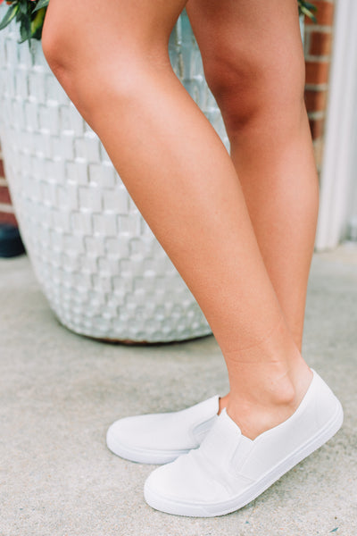 Van Snake Slip On Tennis Shoes - Swoon Boutique