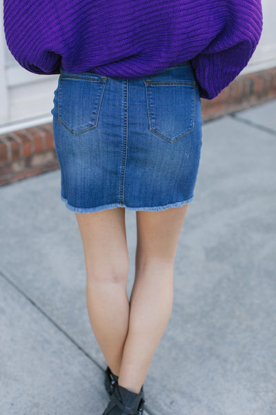 My Dime Denim Skirt