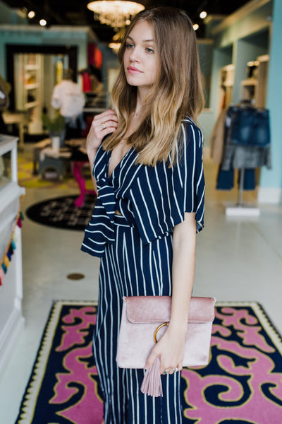 The Valley Striped Jumpsuit