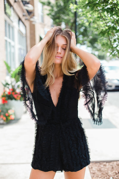 The McCall Ruffle Playsuit