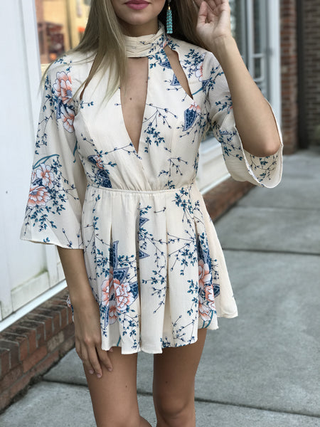 Part of Me Floral Romper