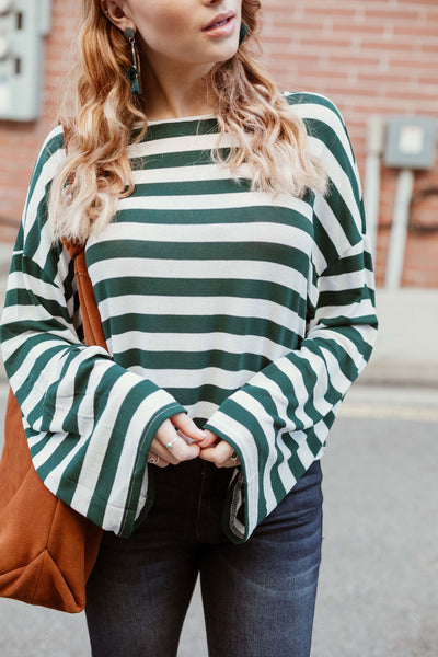 The Huntsman Striped Top
