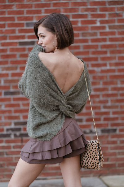 The Holiday Ruffle Skort
