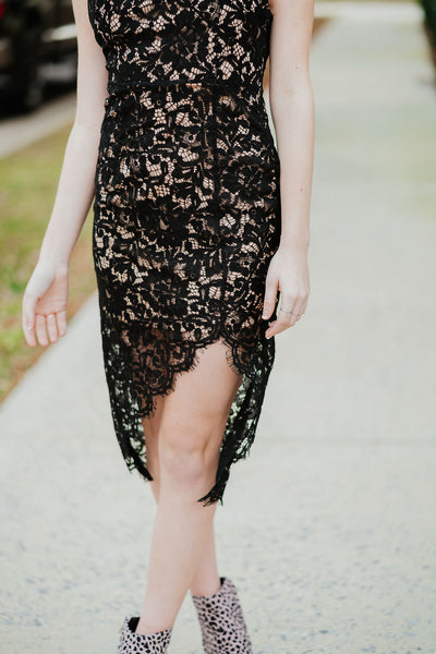 The Sophisticate Lace Dress
