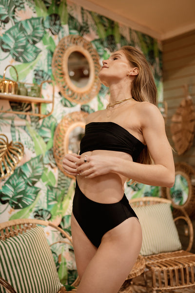 The Odyssey Cutout One Piece Bathing Suit